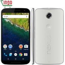 "Original Motorola Google Nexus 6 XT1103/XT1100 Quad Core 5.96"" 3220mAh 3GB RAM 32/64GB ROM 4G LTE Dual SIM WIFI Cell Phone"