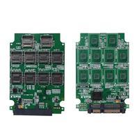 10 Slots Micro SD TF Memory Card to SATA SSD Adapter Expansion RAID Converter