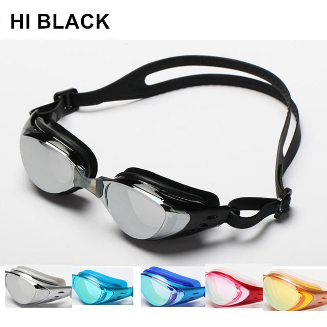 008fd4a3ece Adult Prescription Optical Myopia Swimming Goggles Swim Silicone Anti-fog  Coated Water diopter Swimming Eyewear glasses masks