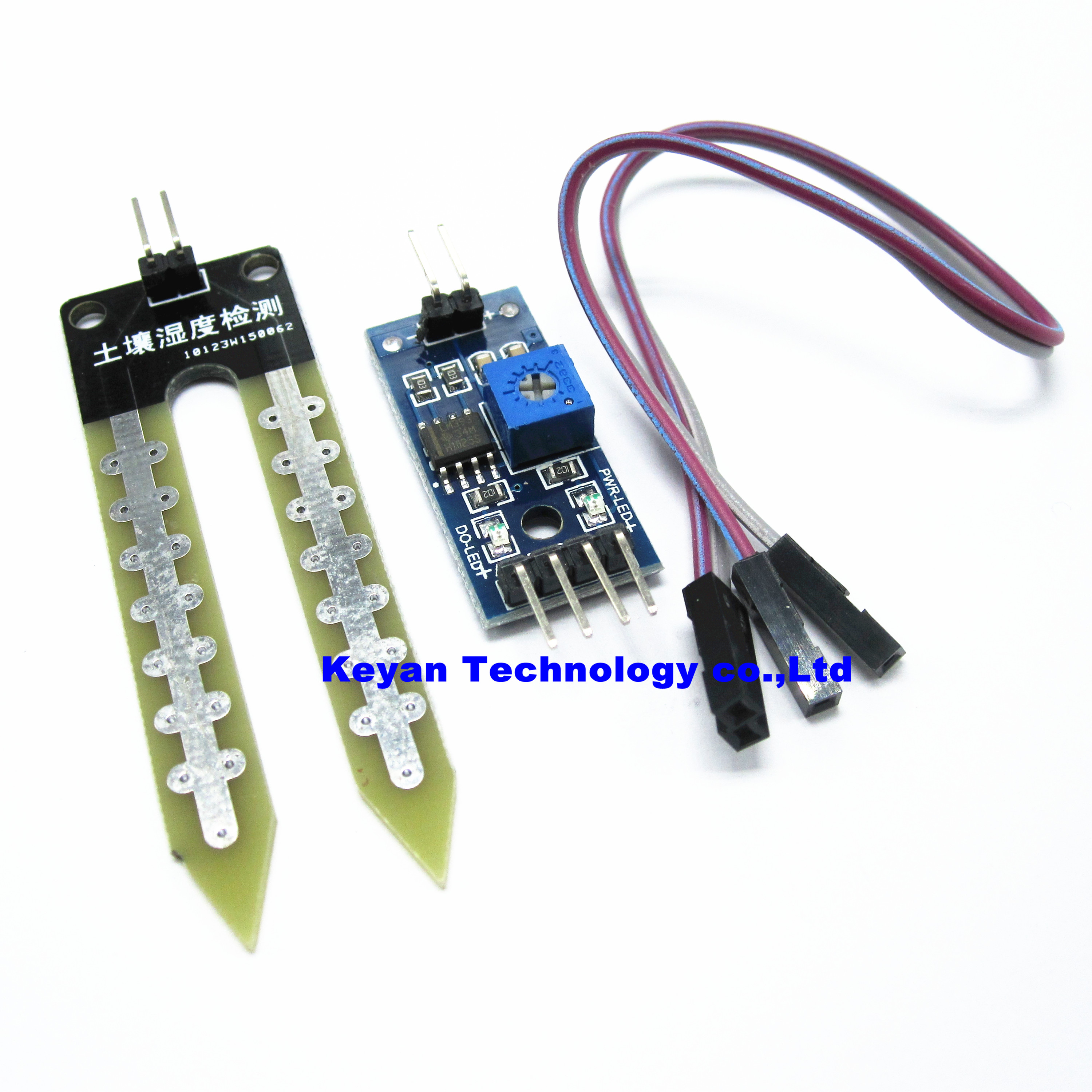 20pcs Lot Soil Moisture Meter Testing Module Humidity Sensor Electronic Components Integrated Circuitsicsicchina Mainland Robot Intelligent Car In Circuits From Supplies On