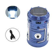 EZK20 Rechargeable Camping Light Collapsible Solar Camping Lantern Portable Tent Lights Lanterns For Outdoor Camping Hiking