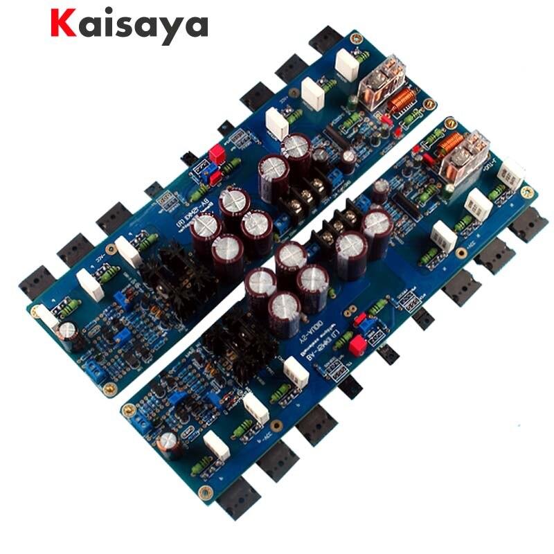 quality Assembled Enhanced version KSA100 circuit amplifier board more than 300w AB 260W+260W A 50W+50W G3-009 krell ksa100 c5200 a1943 260w 2 class ab power amplifier board