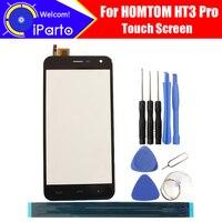 5.0 inç HOMTOM HT3 Pro Dokunmatik Cam Panel 100% Garanti Orijinal Cam Panel Için Dokunmatik Ekran Değiştirme HT3 Pro  2 dokunmatik|replacement touch screen|touch screentouch screen replacement -