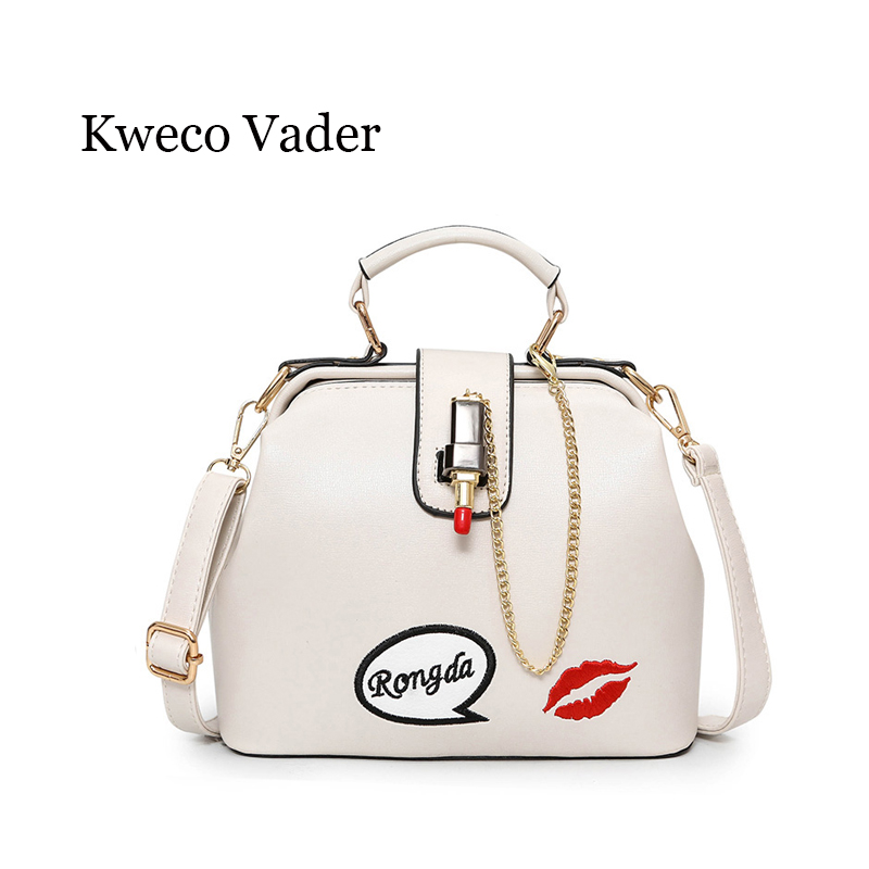 Luxury Handbags Women Bags Designer 2017 New Women Shoulder Bag Small Square Package Handbag Lipstick Doctor Bag Bolsos Mujer