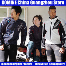 KOMINE Japanese Original Motorcycle Jacket Motorbike Riding Jacket Breathable Motorcycle Full Body Protective Gear Armor Summer chinese brand scoyco am06 motorcycle armor motorbike armors chest back support riding protective device made of pp size m l xl