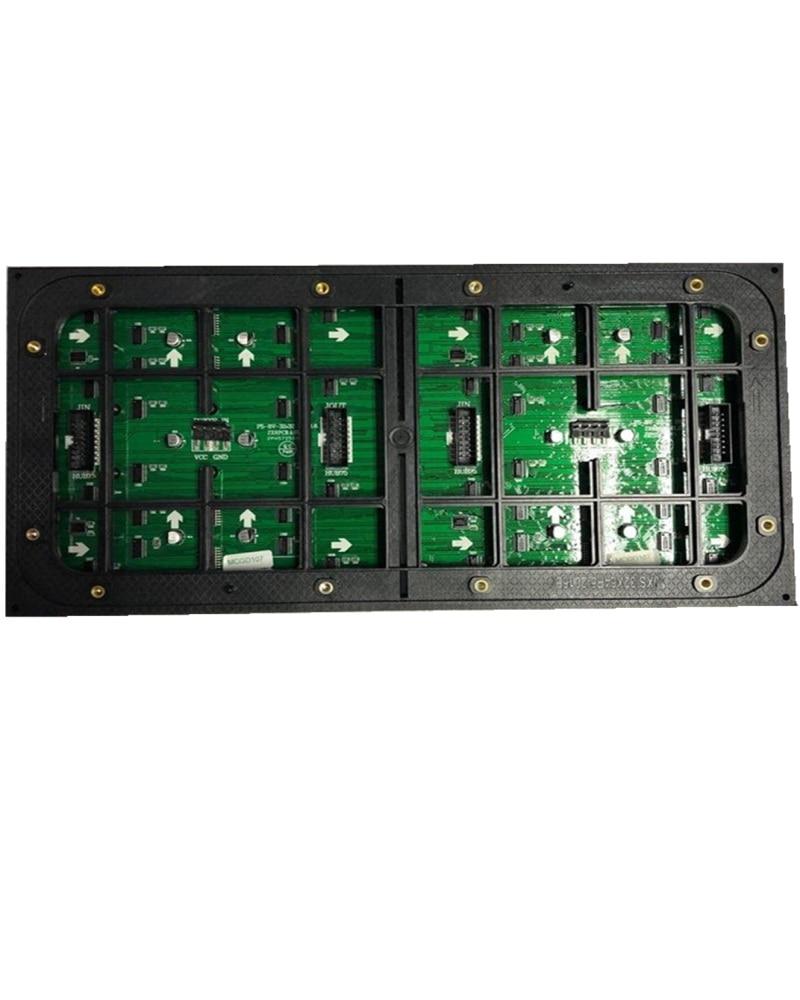 64*32 points p5 module led extérieur smd 2727 paquet 1/8 scan vidéo led module armoire taille 640*640mm pour affichage publicitaire p6 p8