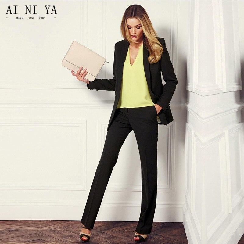 Costumes Noir Femmes Choose 2 Pantalons As Formelle Casual Femme Élégante Dames Pièce same Blazers Color Wear Chart D'affaires Styles Uniformes Picture Définit Work Bureau 5ARq3Sc4Lj