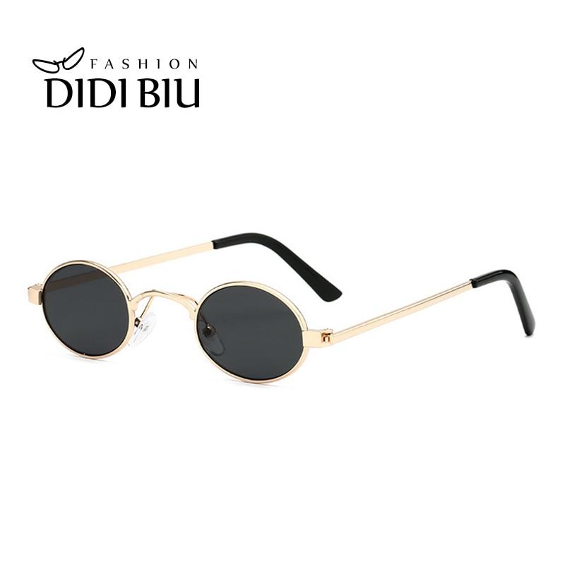 New Shades Retro Sunglasses Silver Classic John Lennon Lunette Round Frame