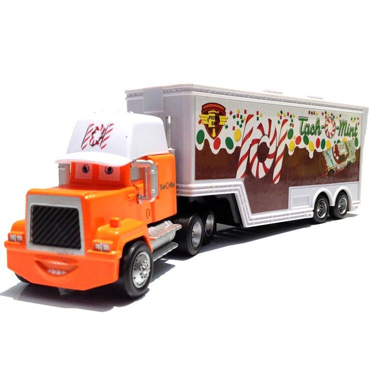 Pixar Cars 2 Toys Container Truck 101 Rpm Mack Hauler Diecast