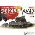 OHS Meng TS030 1/35 Alemão FlakPanzer Gepard A1/A2 AFV Escala Montagem Modelo de Construção Kits
