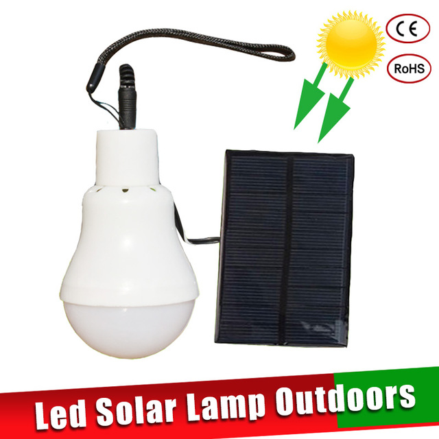 Us 6 52 Off Led Solar Lamp Light Luz Para Exterior 15w Bulb For Outdoors Camping Garden Fishing In
