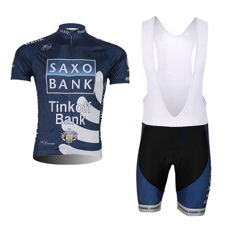 Prix pour 2016 Nouvelle Arrivée Hommes de Tinkoff Saxo Manches Courtes Vélo Jersey/Été Respirant Vêtements de Cyclisme Ropa Ciclismo Hombre