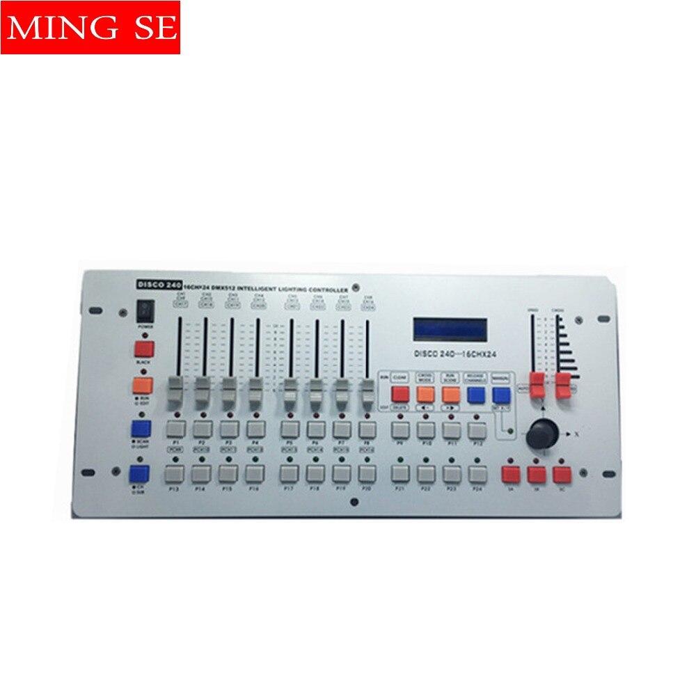 Hot sale International standard DMX 240 controller controller moving head beam light console DJ 512 dmx controller equipment