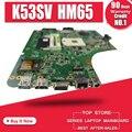 K53SV Motherboard REV 3.1/3.0 For ASUS K53S A53S K53SV K53SJ P53SJ X53S laptop Motherboard K53SV Mainboard test 100% ok