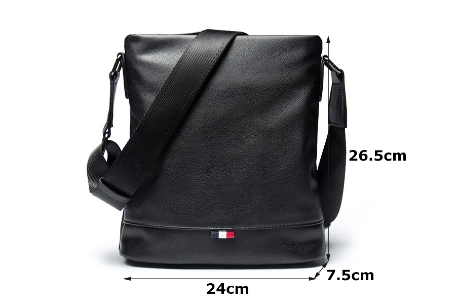 6b3c9780b248 VIDENG POLO Brand Casual Male Messenger Bags Leisure Shoulder Bag ...