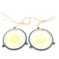2X Auto Car LED COB Reverse Light Warning Turn Signal Light Daytime Running Light Fog Lamp