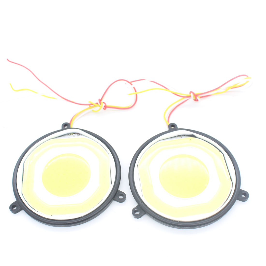 2X Auto Car LED COB Reverse Light Warning Turn Signal Light Daytime Running Light Fog Lamp Interior Automobile Car Styling