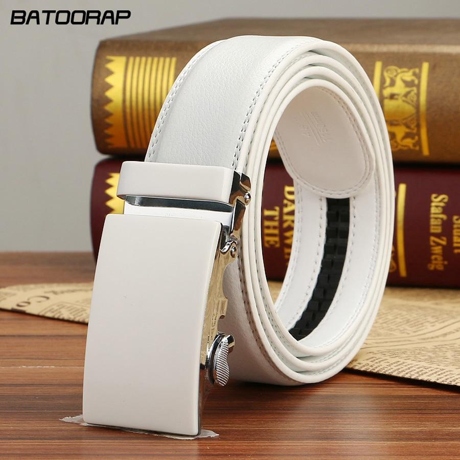 웃 유 Batoorap 2018 Mens Luxury Automatic Buckle Belts Men Fashion