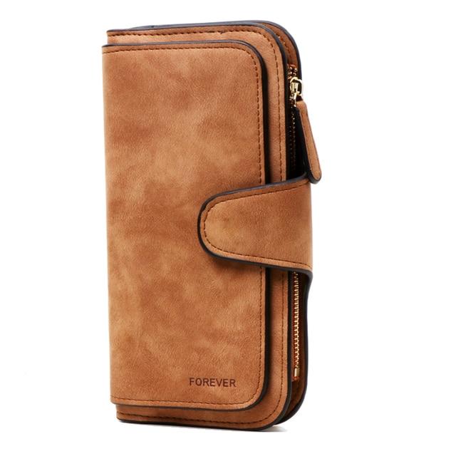 Women RFID Blocking Women Wallet Purse Wallet Female Card Holder Long Lady Clutch purse Carteira Feminina 4