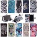 Top quality wallet stand flip caso capa de couro para apple iphone 4 4s SE 5 5S 5c 6 s 6 s 7 plus Tampa do telefone móvel e Cartão titular