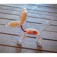 Balloons Dog Art DIY 4Dmasters Education Toys Crafts Home Decoration Living Room Desktop Skeleton Body Dog L3010