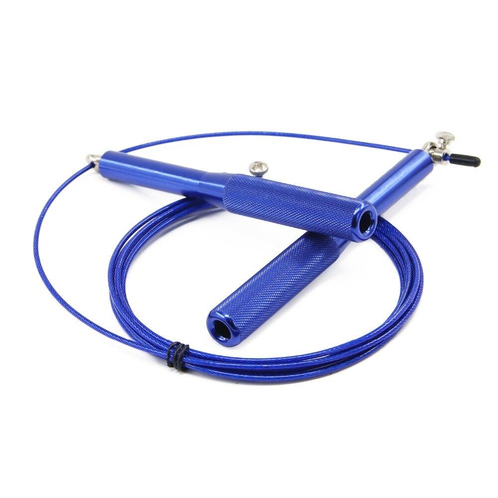 1 Pcs Jump Seil Geschwindigkeit Ausbildung Kugellager Springseil Übung und Fitness Home Gym Griff Geschwindigkeit Springseile Überspringen - 6