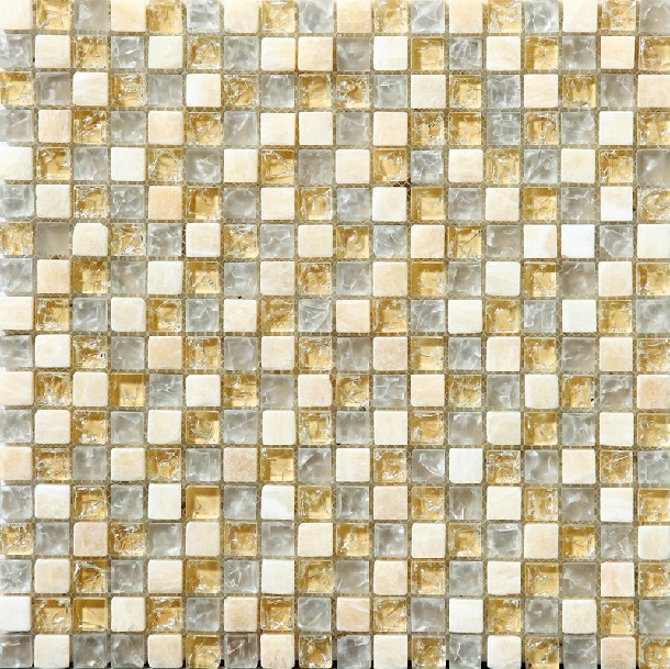 Beige Gl Stone Le Backsplash Tile Kitchen Yellow Mosaic Art Decor Mesh Bath Shower Mirror Wall Design Marble Tiles On Aliexpress Alibaba