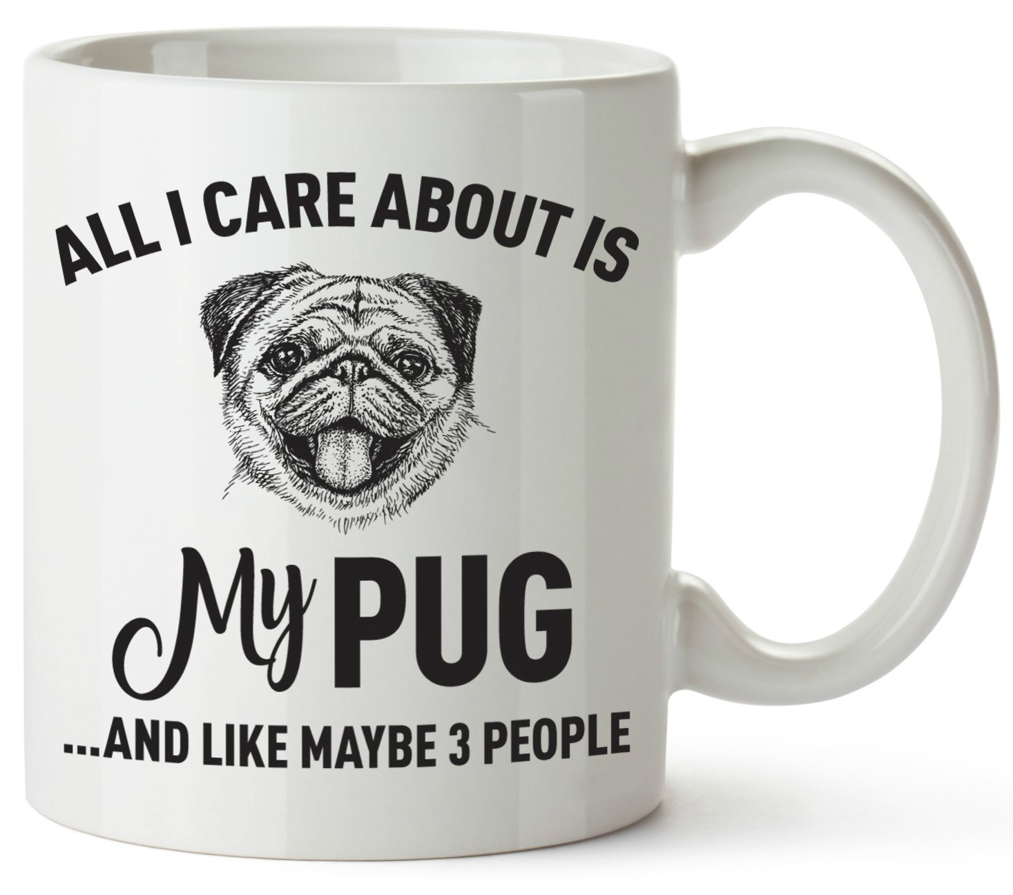 Detail Feedback Questions about Pug Mom Gifts Mug for Women Men Dad Decor Lover Decorations Stuff I Love Pugs Funny Birthday Gift Home Coffee Cup on ...