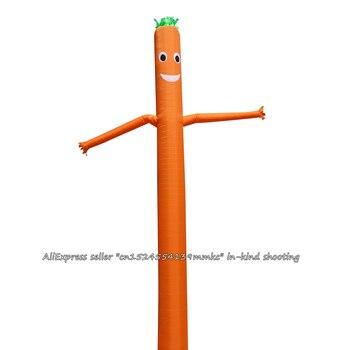 Air Dancer Sky Dancer Inflatable Tube Sky Puppet Man Puppet 20FT 6M for 45CM Blower (Orange)