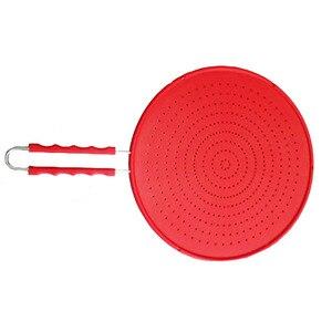 Image 3 - Pantalla de salpicadura de 13 pulgadas cubierta/colador/estera de enfriamiento/drenaje multiuso 4 en 1, protege de salpicaduras de aceite caliente para cocinar y freír