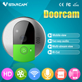 720 P Porta Campainha Sem Fio HD WiFi IP suporte para Câmera Cartão SD Gravador de Vídeo Porteiro Remoto Instantâneo por telefone