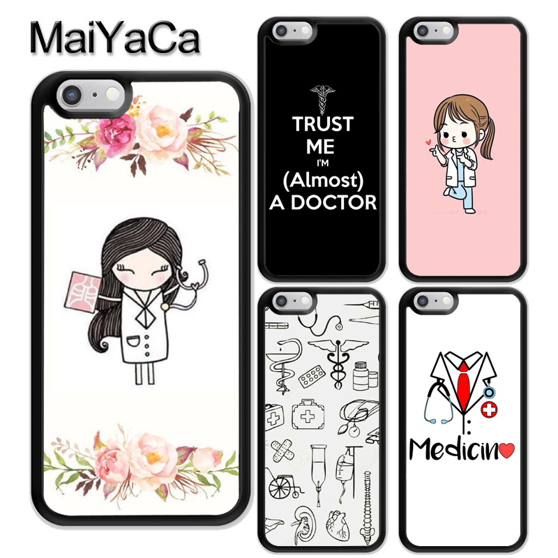 Phone Bags & Cases Fitted Cases Smart Maiyaca Medical Doctor Nurse Medicine Student Soft Tpu Coque Skin Phone Case For Iphone 6 6s 7 8 Plus X Xr Xs Max 5 5s Se Cover Online Shop
