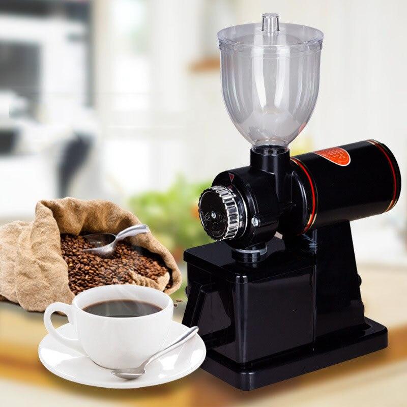 Machine électrique de moulin à café, Machine de moulin de grain de café livraison gratuite moulin à café