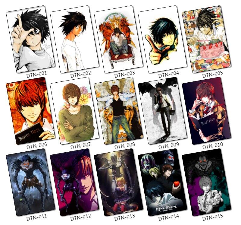 35 Pz Death Note Personaggi Dei Cartoni Animati Adesivi Di Carta