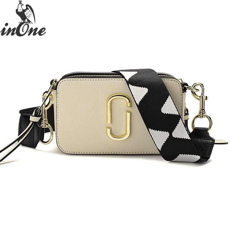 INONE Luxury Bags for Women 2019 Vegan PU Leather Crossbody Messenger Shoulder Bag with Two Straps Clip Shape Hardware DecorINONE Luxury Bags for Women 2019 Vegan PU Leather Crossbody Messenger Shoulder Bag with Two Straps Clip Shape Hardware Decor
