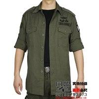 Unionarmy Cotton Men Shirts Long Sleeve Military Casual Shirt Outdoor Cloth Camisa Masculina Plus Size M-4XL High quality shirt