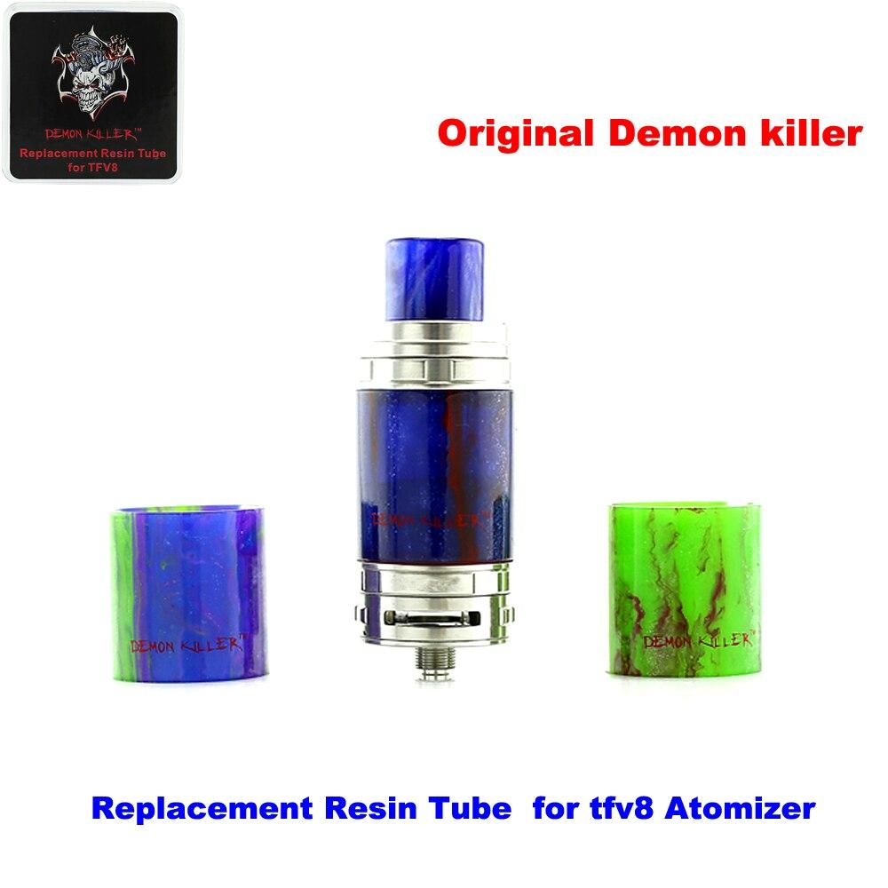 Original Demon killer Electronic cigarettes Replacement Resin Tube  for TFV8 Atomizer  E-cigarettes Tank