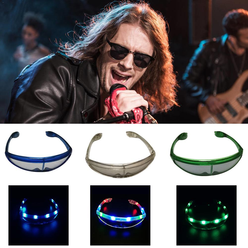 Halloween Flashing Led Glasses Luminous Party Decorative Lighting Classic Gift Bright LED Light Up Party DJ Party Glasses