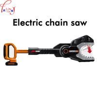 Lithium electric chain saw WG329E family leisure garden electric chain saw portable electric saws wood cutting tools 20V 1PC
