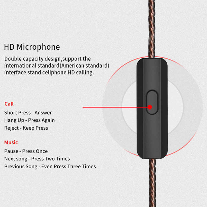 KZ ZSA наушники арматурный динамический гибрид в ухо HIFI бас DJ музыка спорт головной телефон шум отмена плюс головная bluetooth-гарнитура