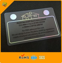 (200pcs/lot)new arrival!0.36mm thickness single side printing card transparent,plastic transparent