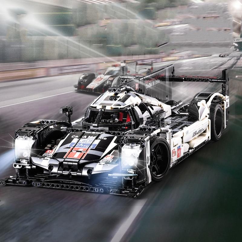CADA Mobile legoing Technic 1586pcs Super Sports Car Speed Champions City MOC Building Block Bricks DIY