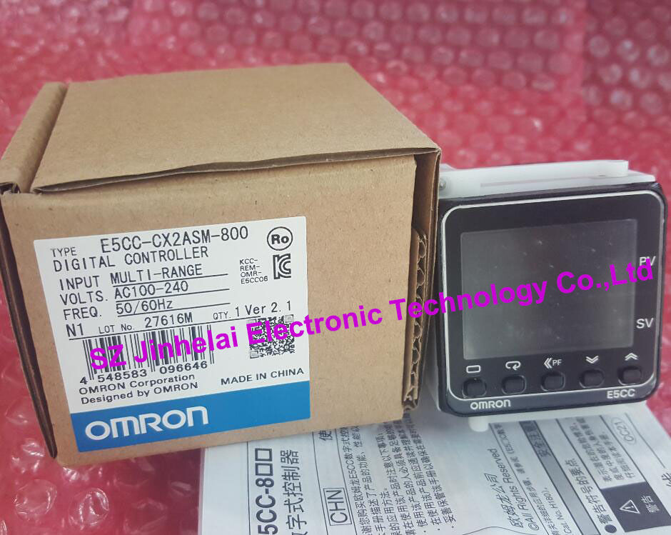 E5CC-CX2ASM-800 New and original OMRON Temperature controller AC100-240V стоимость