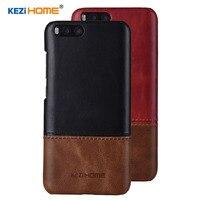 Case For Xiaomi Mi6 Mi 6 KEZiHOME Luxury Hit Color Genuine Leather Hard Back Cover Capa