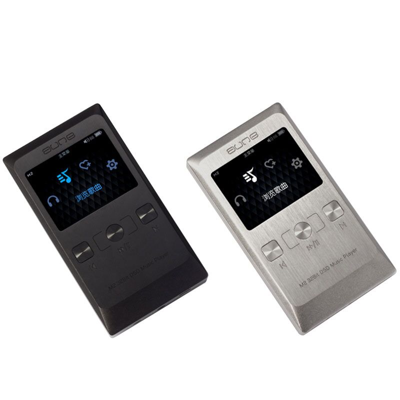 Authentic Aune M2 32Bit/DSD Asynchronous Double Clock Class A HD OLED Portable Hifi Music Player MP3 aune s18 32bit dsd asynchronous cpld dual clock hifi music player dual clock digital turntable