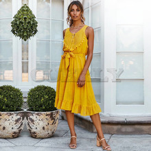 Cuerly 2019 Women Summer Boho Lace Long Maxi Dress Evening Party Beach Dress Sundress V neck Sleeveless Backless Elegant Dresses fashion women summer boho long maxi dress evening party beach dress formal dresses sleeveless