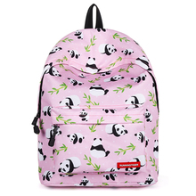School Backpack for Teenage Girls Kids Water Resistant Bags Mochila Feminina Printing Female For College Student