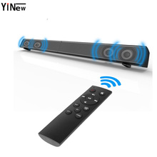 LP-09 Subwoofer Home Theater Sound Bar Home TV Echo Wall-mounted 4 Speaker Sound bar Remote Control U-Disk Bluetooth Speaker