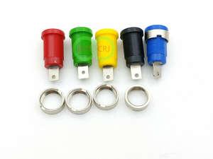 1000pcs 4mm Banana Jack Binding Post for 4mm Banana Plug connector