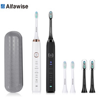 Alfawise S100 Sonic Electric Toothbrush Ultimate Cleaning Whitening Advanced Safeguard Oral Health Care Cleaning Tools